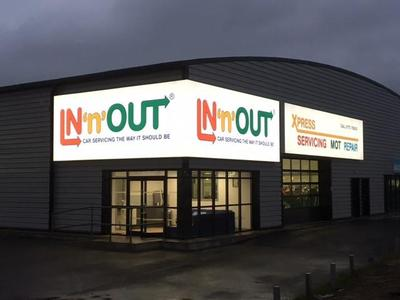 IN'n'OUT Autocentres Spalding