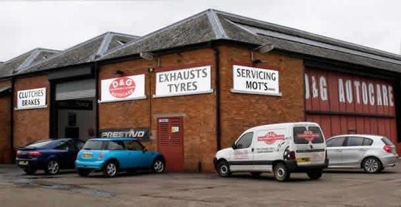 D&G Autocare – Crossford Garage