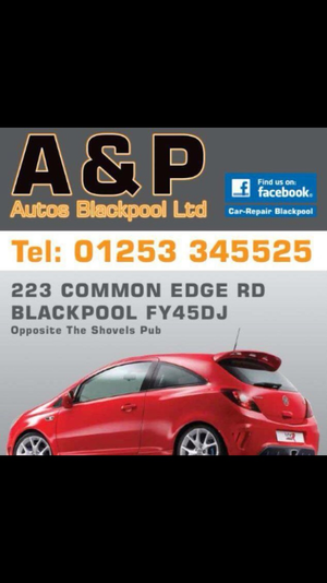 A&P Autos Blackpool Ltd