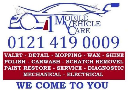 1MVC Mobile Vehicle Care Pick and Drop