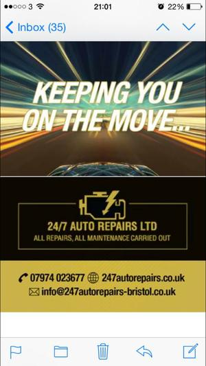 24/7 Auto Repairs Ltd