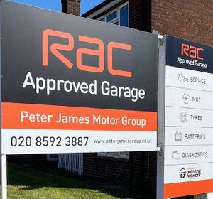 Peter James Motor Group.