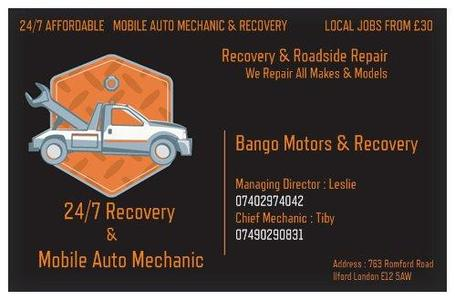 Bango Mobile Motor Works & Recovery Services