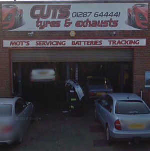 Cuts Tyres and Exhausts