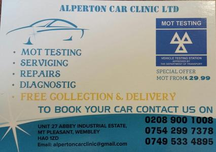 Alperton Car Clinic