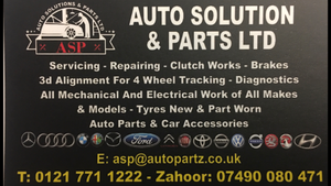 Auto Solutions & Parts Limited
