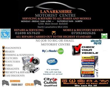 Lanarkshire Motorist Centre
