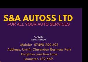 S and A Autoss Ltd