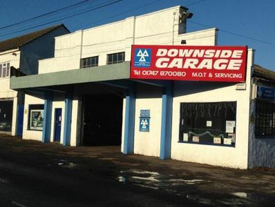 Downside Garage