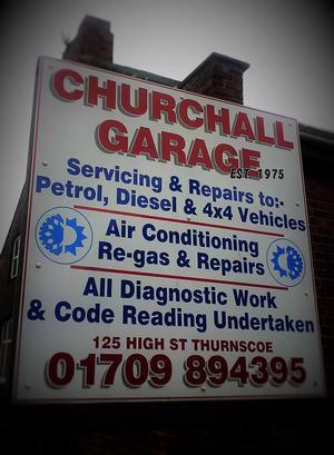 Church Hall Garage Ltd