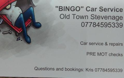 """Bingo"" KrisCanFix Old Town Stevenage"