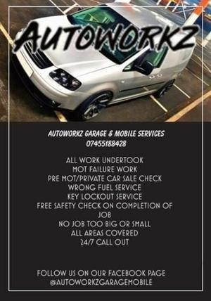 Autoworkz Garage Services LTD