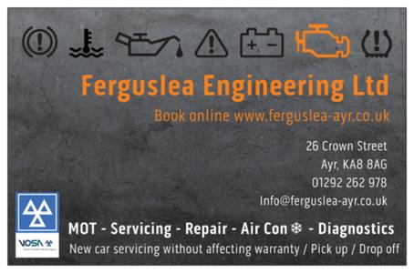Ferguslea Motors Ltd