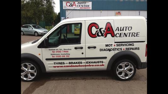 C and a autocentre ltd