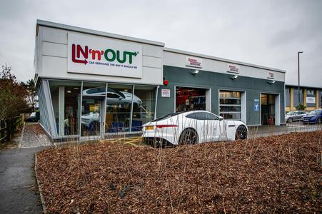 IN'n'OUT Bristol - Cribbs Causeway (next to Morrisons Petrol Station)
