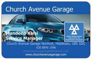 Church avenue Garage Ltd