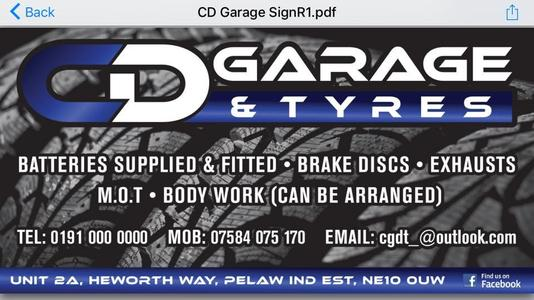 CD Garage Tyres